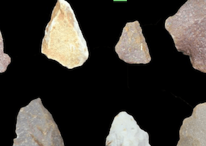 ancient stone tools - image by Sharma Centre for Heritage Education