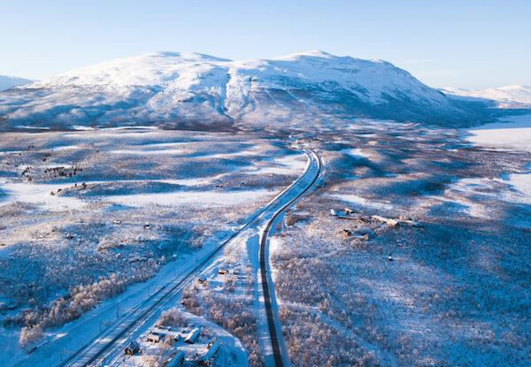 Lapland in Northern Sweden