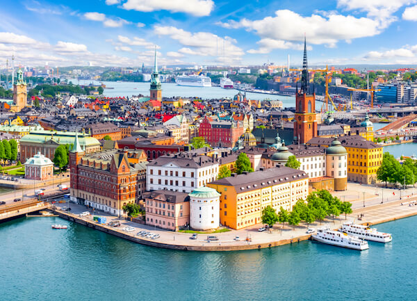 Sweden's capital city Stockholm Gamla Stan - Old Town