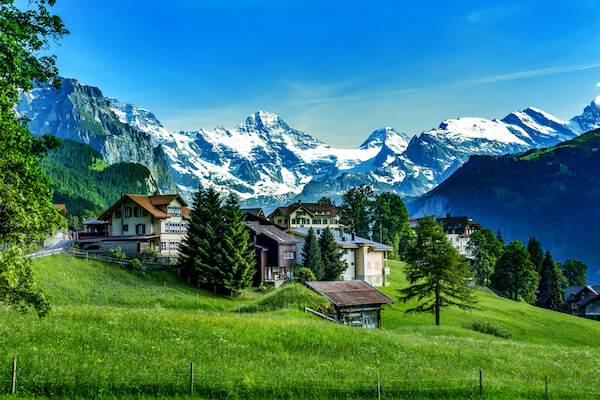 Swiss Alps and Jungfraujoch