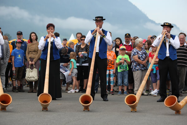 Alphorn players - Stefan Bräutigam