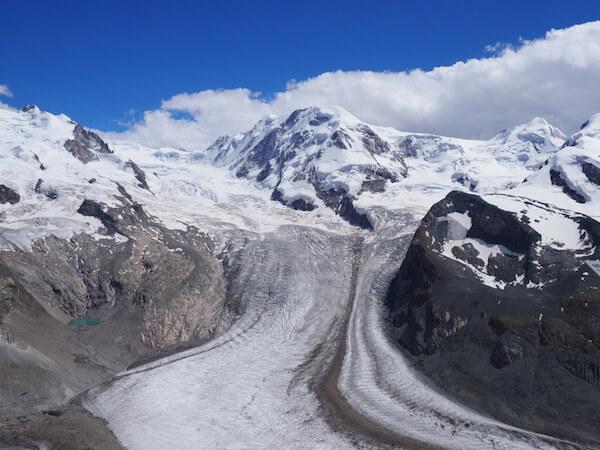 Switzerland Dufourspitze Monte Rosa