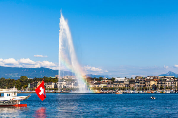 Geneva Water Jet - image by Peter Stein/shutterstock