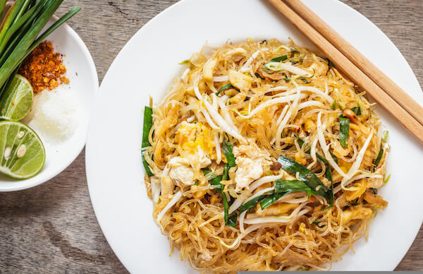 Padthai - typical Thai dish