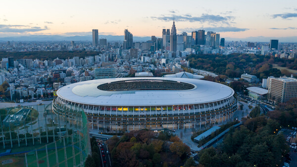 Tokyo Olympic stadium - image by Tomacrosse/shutterstock.com