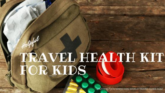 Travel Health Kit for Kids