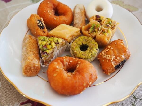 Typical Tunisian pastries