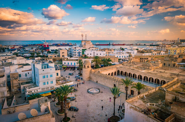 City of Sousse in Tunisia
