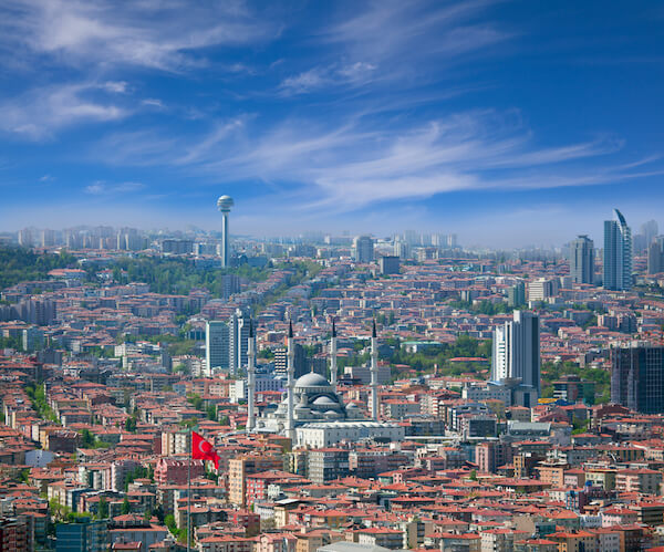 Turkey's capital city Ankara