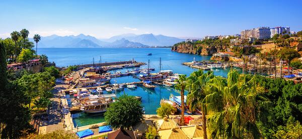 Turkey's Antalya harbour