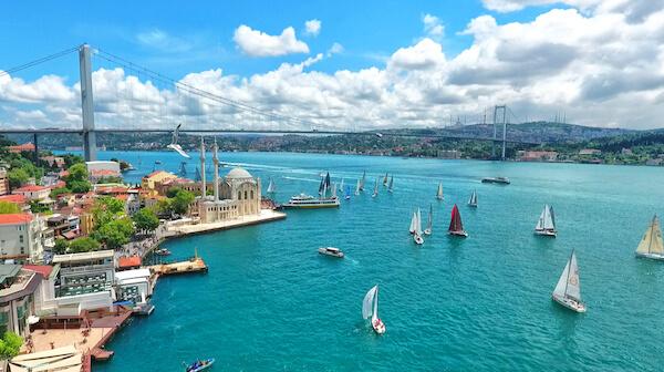 Bosphorus in Turkey