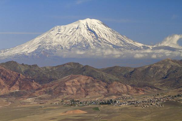 Mount Ararat - highest mountain in Turkey