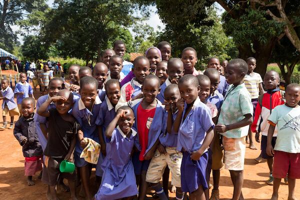 Uganda school kids - image by Adam Jan Figel/shutterstock