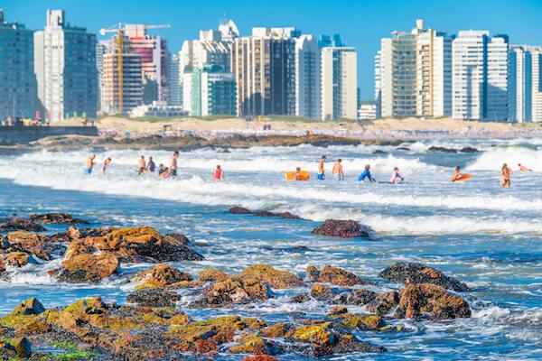 Uruguay Playa Brava - image by DFLC prints