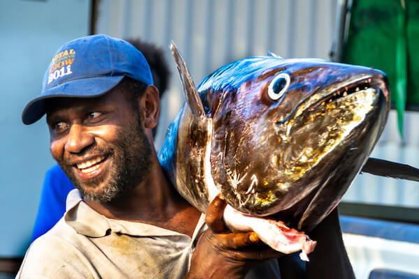 Vanuatu fisherman - image by Tatyana Dotshenko/shutterstock.com