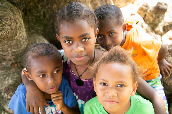 Children in Vanuatu - image by Jandira Namwong/shutterstock.com