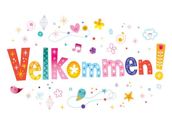 velkommen in danish: Welcome
