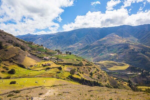 Merida mountainscape in northwestern Venezuela