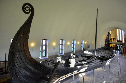 Viking ship by Valerliaarsnaud/Shutterstock.com