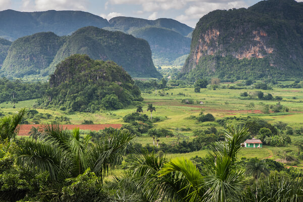 Mogotes in Viñales Valley