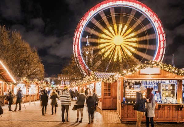Berlin Christmas fair and ferris wheel - image by visitBerlin/DagmarSchwelle