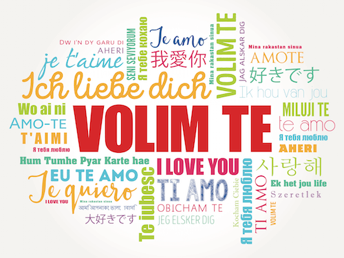 Volim Te means I Love You in Croatian