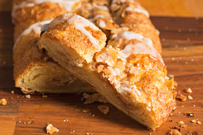 Danish pastry called Wienerbrod - by shutterstock.com
