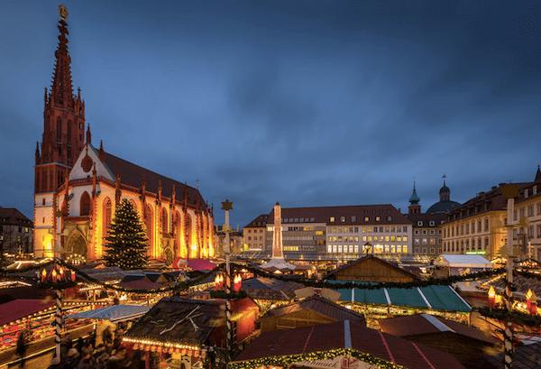 Würzburg Weihnachtsmarkt - image by Rainer Maiores