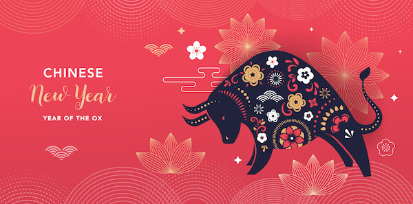 Happy Chinese New Year - 2021 is the Year of the Ox