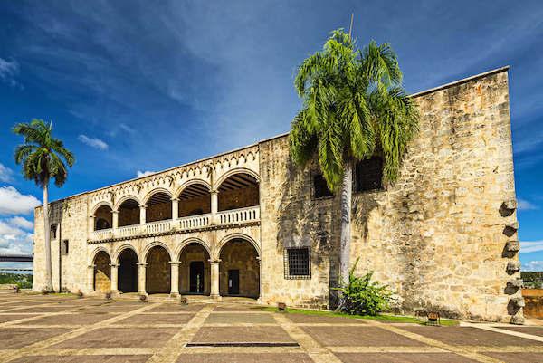Alcazar de Colon in the Dominican Republic - image by Saaton/shutterstock
