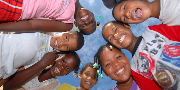 Children in the Dominican Republic - image by D-Visions/shutterstock