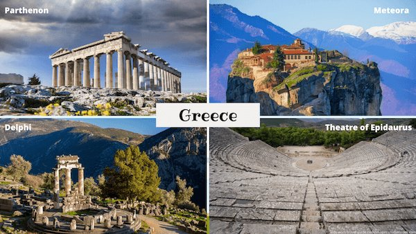 Monuments in Greece - Kidsworldtravels