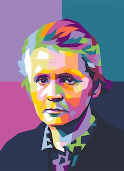 Marie Curie - image by Roseed Abbas/shuterstock