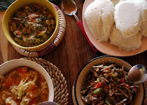 Nshima - Zambian dish, image by wikicommons