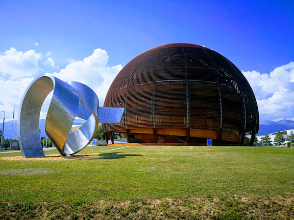 CERN Globe in Geneva - image by Alex Gorun