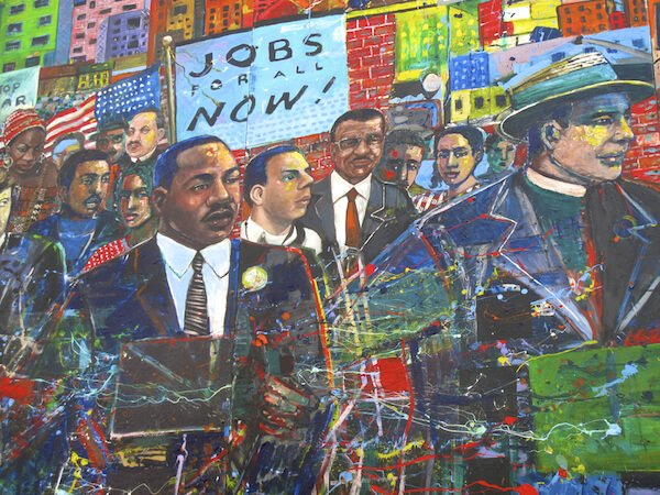 Martin Luther King Mural in Atlanta - image by Forty3Zero/shutterstock.com