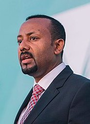 Ethiopian Prime Minister Abiy Ahmed - image: Aron Simeneh/wikicommons