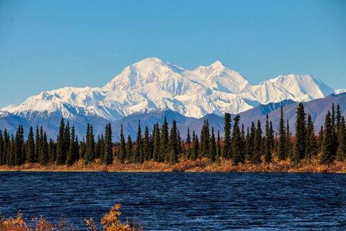 Mount Denali in Alaska - image shutterstock