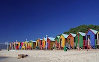Cape Town South Africa - St James huts
