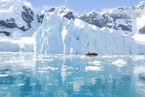Exploring Antarctic waters - shutterstock.com