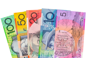 Australian Money - Banknotes are colourful