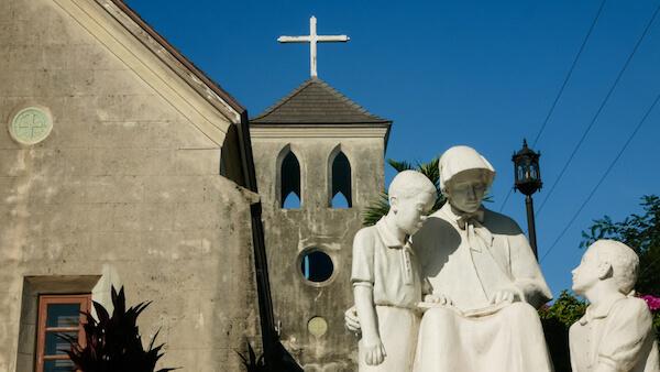 Saint Francis Xavier - oldest church in Nassau - image by Ackats/shutterstock.com