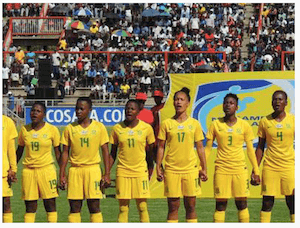 Banyana Banyana - South Africa women soccer team - image by dpa