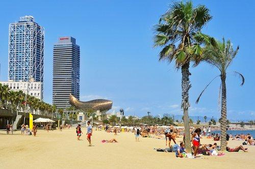 Barceloneta Beach by Nito/Shutterstock.com