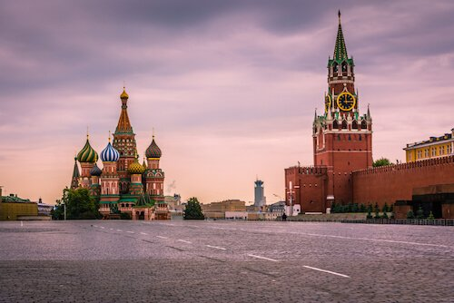 Russia's St. Basil Cathedral - image by Felipe Frazao/Shutterstock.com