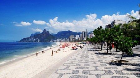 Brazil Ipanema Beach