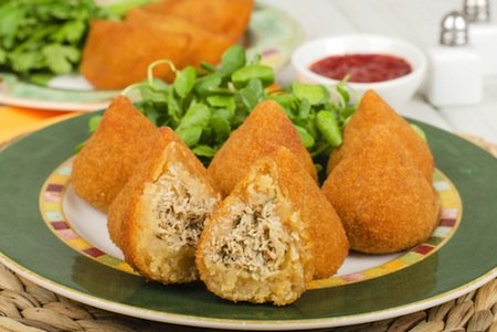 coxinha de galinha by Paul Brighton at Shutterstock