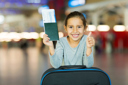 Passport Facts for Kids by Shutterstock