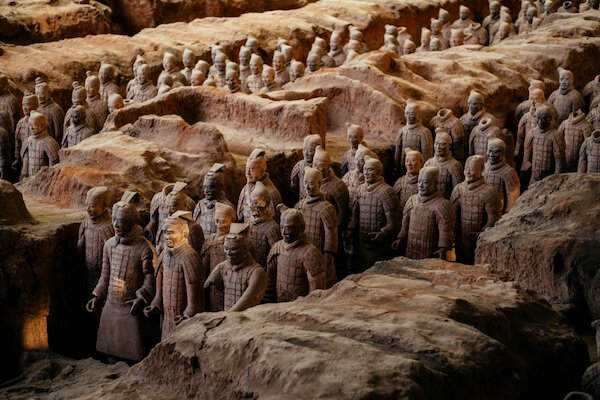 China Terracotta warriors - by shutterstock.com