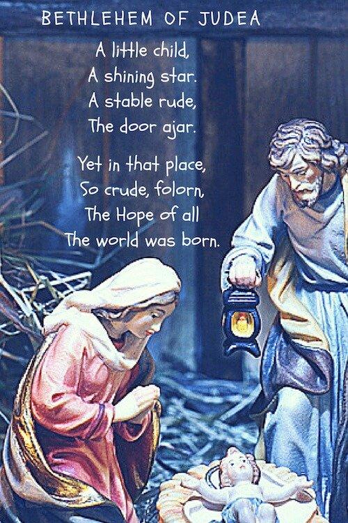 Christmas Poems Bethlehem of Judea